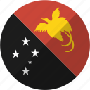 country, flag, guinea, nation, new, papua icon