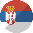 country, flag, nation, serbia