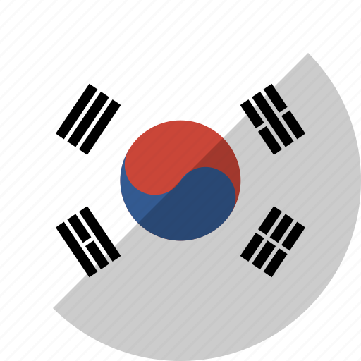Country, flag, korea, nation, south icon - Download on Iconfinder