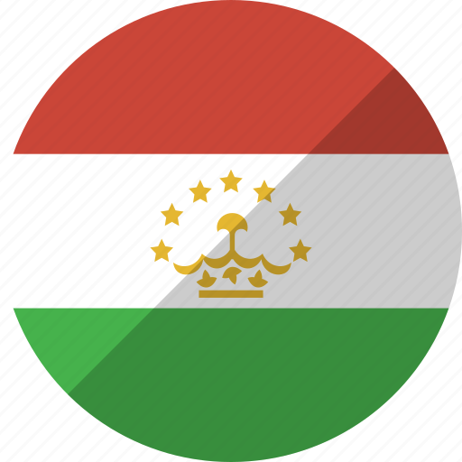 country, flag, nation, tajikistan icon