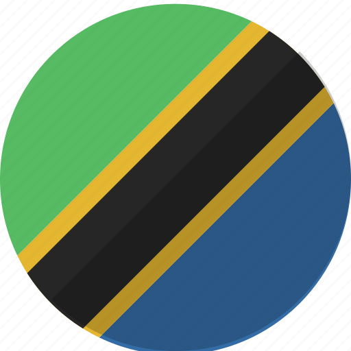 country, flag, nation, tanzania icon