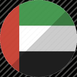 arab, country, emirates, flag, nation, uae, united icon