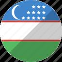country, flag, nation, uzbekistan