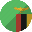 country, flag, nation, zambia
