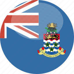 cayman, circle, flag, gloss, islands icon