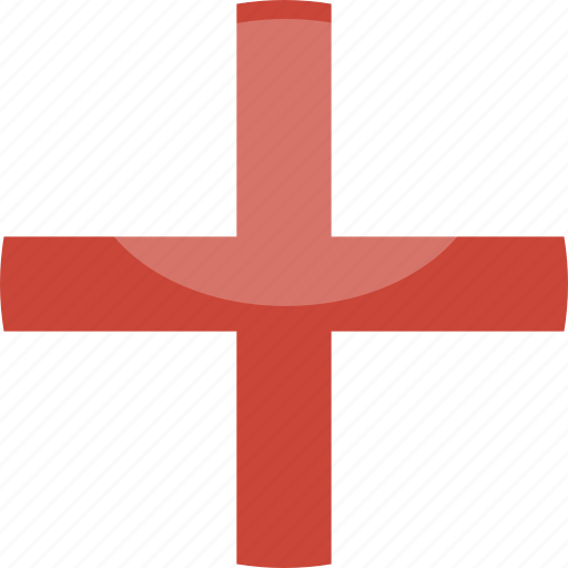 circle, england, flag, gloss icon