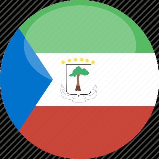 circle, equatorial, flag, gloss, guinea icon