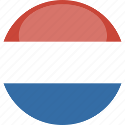 circle, flag, gloss, luxembourg icon