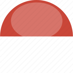 circle, flag, gloss, monaco icon
