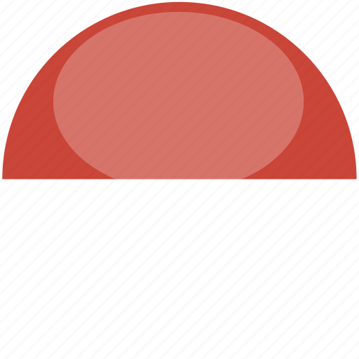 circle, flag, gloss, indonesia icon