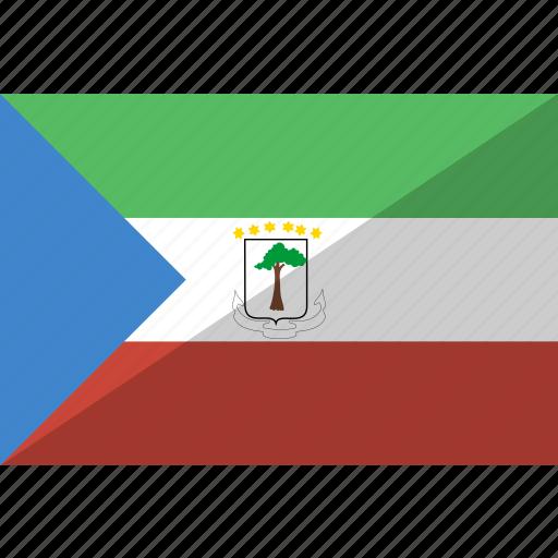 country, equatorial, flag, guinea, nation icon