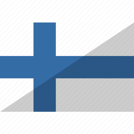 country, finland, flag, nation icon