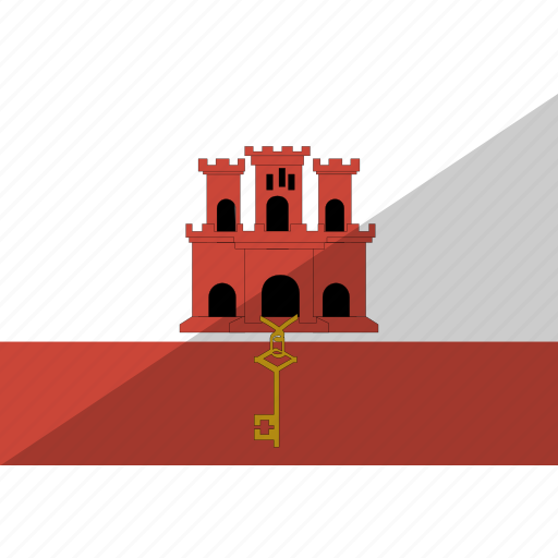 country, flag, gibraltar, nation icon