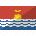 country, flag, kiribati, nation icon