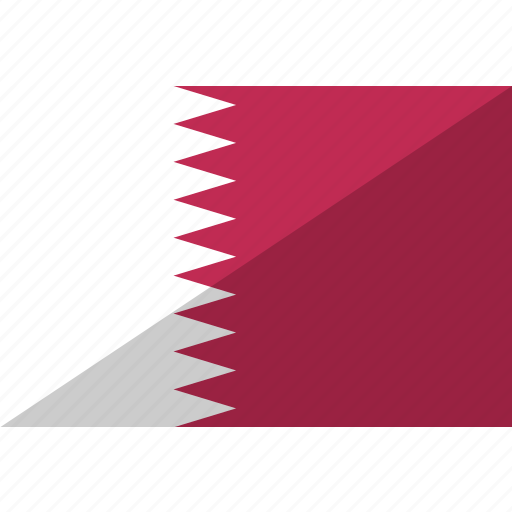 country, flag, nation, qatar icon