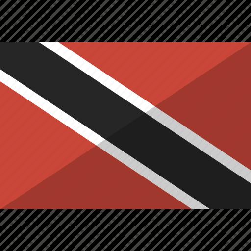 and, country, flag, nation, tobago, trinidad icon