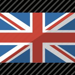 country, flag, kingdom, nation, uk, united icon