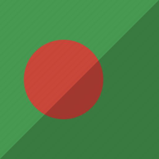 bangladesh, country, flag, nation icon