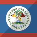 belize, country, flag, nation icon