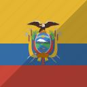 country, ecuador, flag, nation