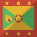 country, flag, grenada, nation
