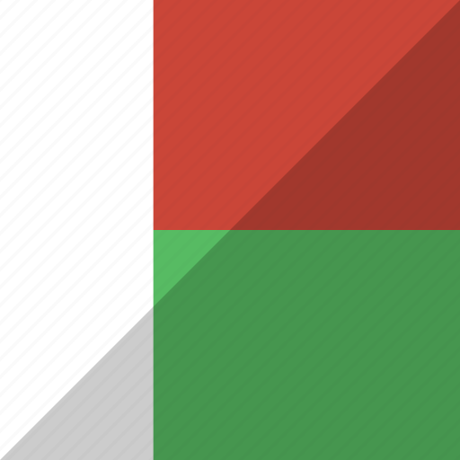 country, flag, madagascar, nation icon