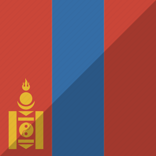 country, flag, mongolia, nation icon