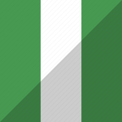 country, flag, nation, nigeria icon