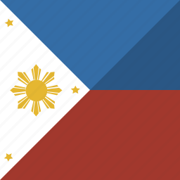 country, flag, nation, philippines icon