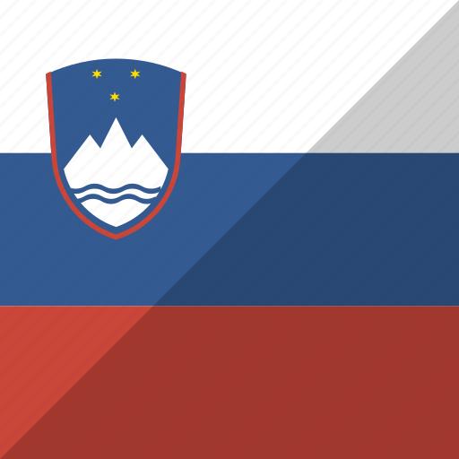 country, flag, nation, slovenia icon