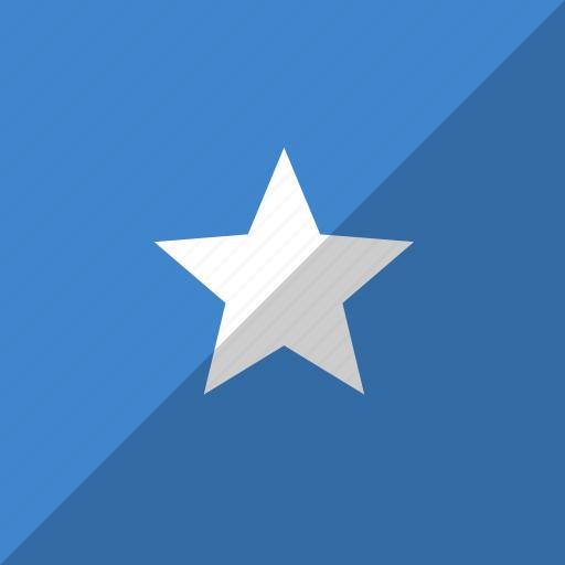 country, flag, nation, somalia icon