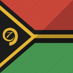 country, flag, nation, vanuatu icon