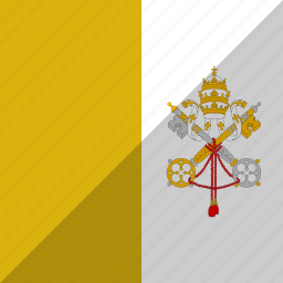 country, flag, nation, vatican icon