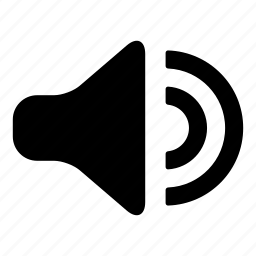 bullhorn, loud, music, mute, sound, volume icon