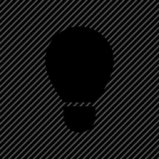 bulb, creative, idea, power icon