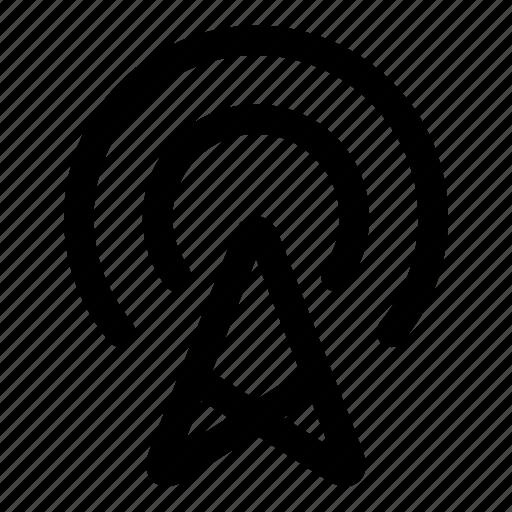 antenna, connection, signal, wifi, wireless icon