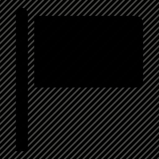 flag, goal, marker, target icon