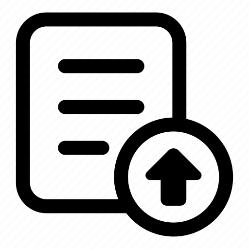 file, server, storage, submit, upload icon