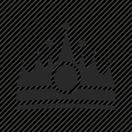 achievement, award, casino, crown, game, prince, royalty icon