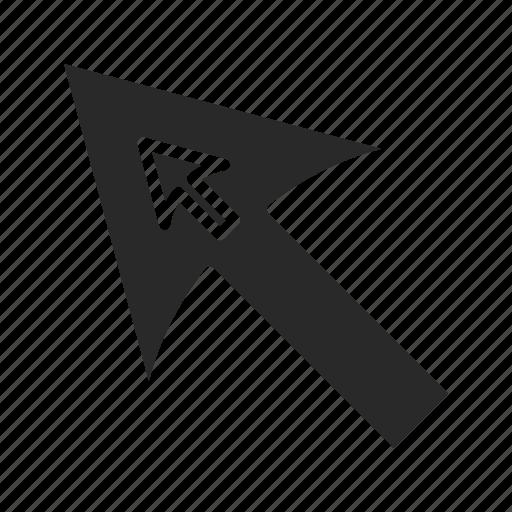 arrow, back, cursor, cursor-aeeow, direction, pointer, upload icon