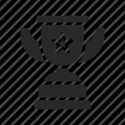 achievement, award, first, medicine, prize, trophy, winner icon
