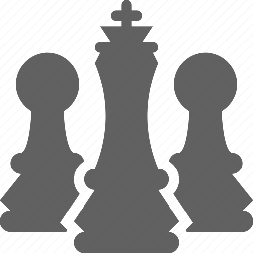 business, chess, leadership, pawn, strategy icon