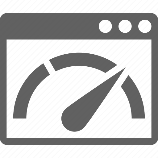 dial, fast, full, guage, loading, pagespeed, speed icon