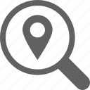 location, navigation, pin, place, search, seo icon