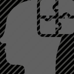 big picture, idea, puzzle, smart, strategy, system icon