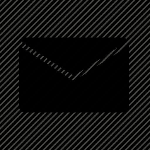 email, envelope, inbox, letter, mail, message, unread icon