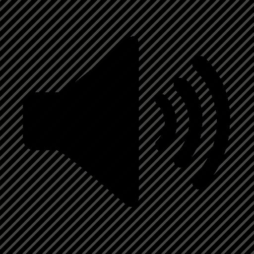 audio, dynamic, high volume, loud, sound, volume icon