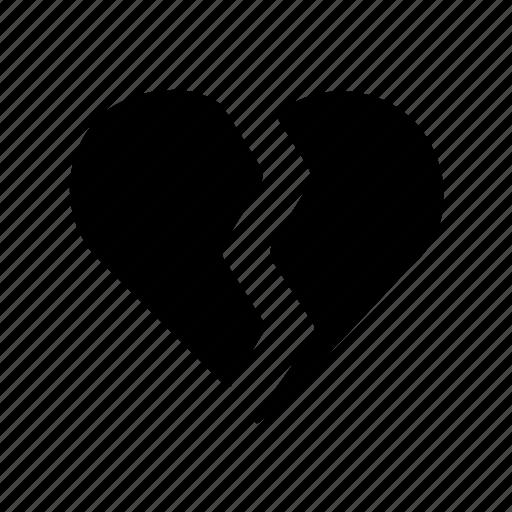 brake, broken heart, dislike, hate, heart, unlike icon