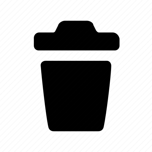 bin, delete, garbage, recycle, remove, trash, waste icon