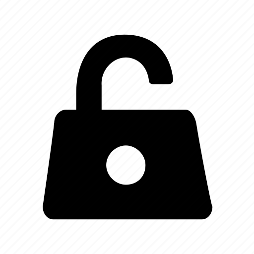 lock, open, password, protection, safety, secure, unlock icon